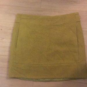 JCREW Wool mini skirt m!